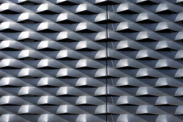 Aluminium Panels Villa Design