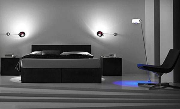 Amazing Bedrooms Lighting Effects With Smart Bedroom