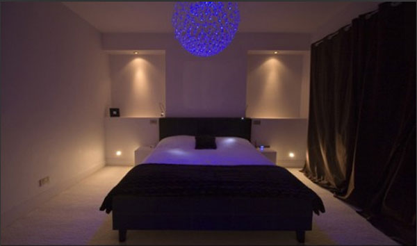 Amazing Bedrooms Lighting Effects with Smart Bedroom ...