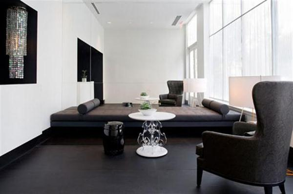Stylish Luxury Black White Apartment Interior Design And Decorating Ideas By BNOdesign Decor