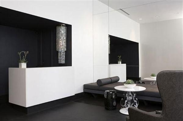 Black White Apartment Decor