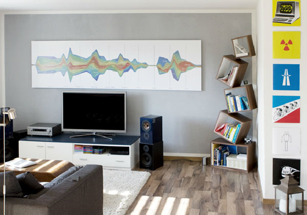Contemporary Bookshelves Ideas