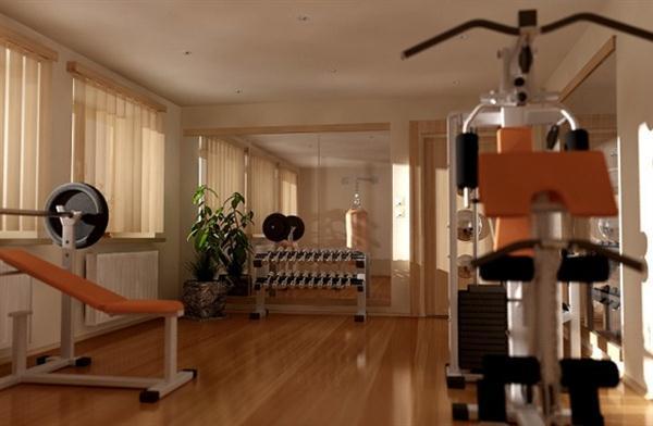 Contemporary Home Gym Design