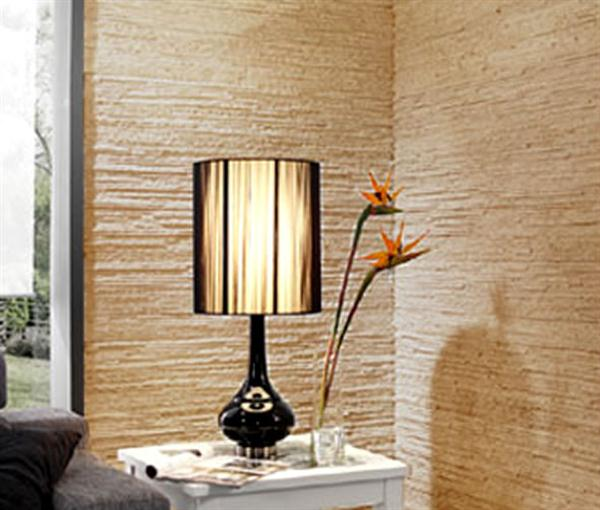 Interior wall covering design with natural look interior for Wallcovering ideas