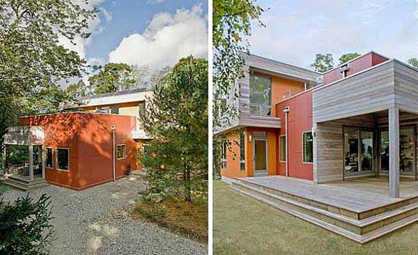 Eco friendly home design with amazing colorful paint ideas for Eco house paint