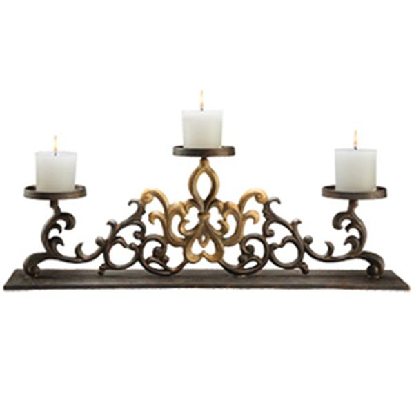 Fireplace Candle Holder HOME DECOR NOW