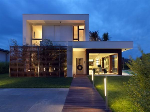 The Luxury House With Unique Glass Facade Of Maison De La Lumiere By Duilio  Damilano + Claudia Allinio : Ultra Modern House Plans And Designs