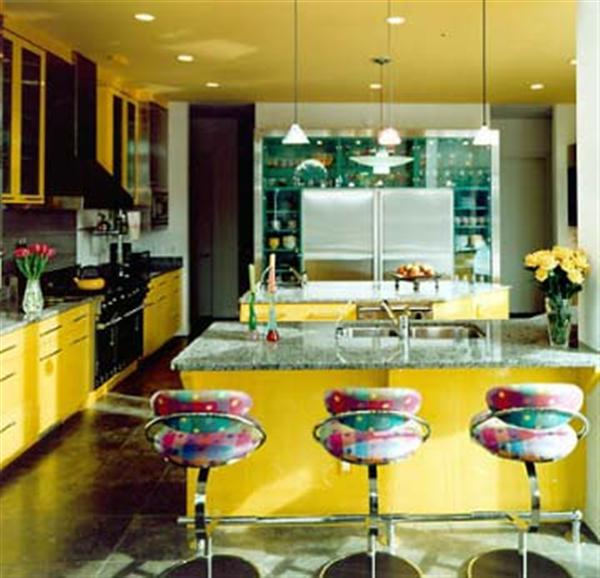 Home Interior Design Yellow