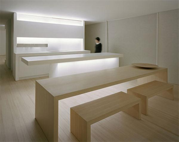 Minimalist interior design in c1 house a modern for Japanese minimalist house design