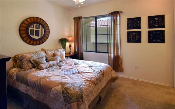 Mandarina Apartment Homes Bedroom