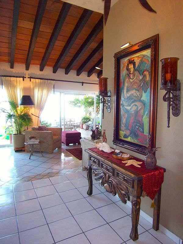 The Luxury Estrella Del Mar Penthouse With Mexican Interior Design In Mexico  : Mexican Style Interior Design Ideas Mexican Style Interior Design Ideas  ...