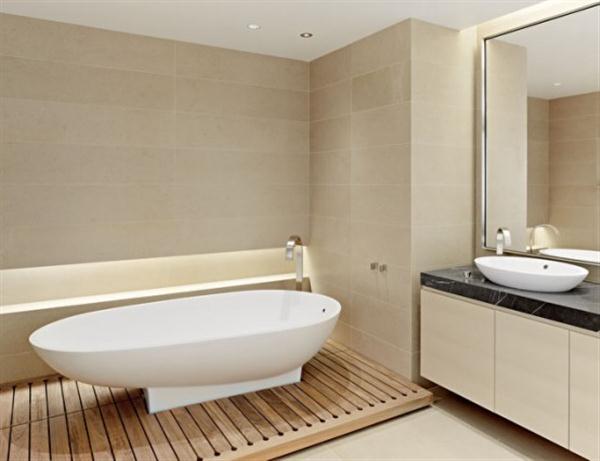 Minimalist Apartment Interior Design Bathroom
