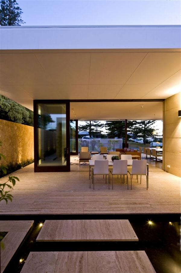 Modern Beach Home Design Open Space
