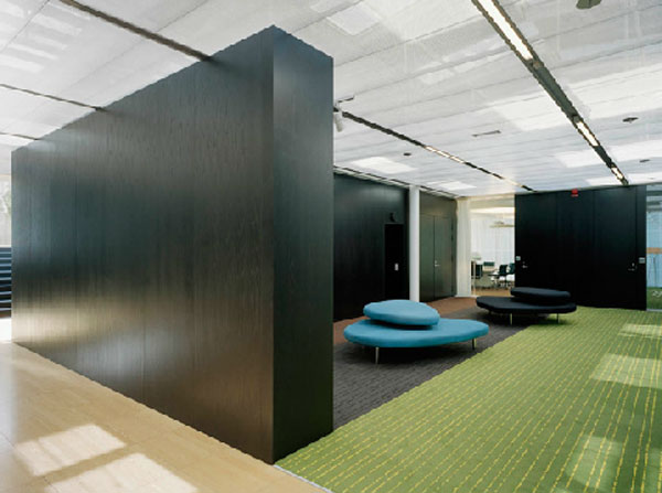 Nasdaq Omx Contemporary Office Interior Design In