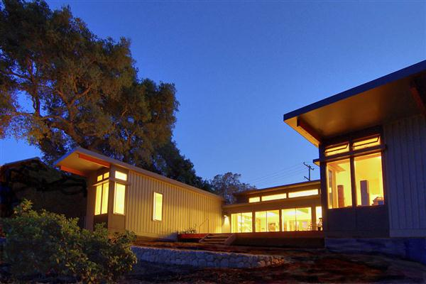 Modern Green Prefab Homes California