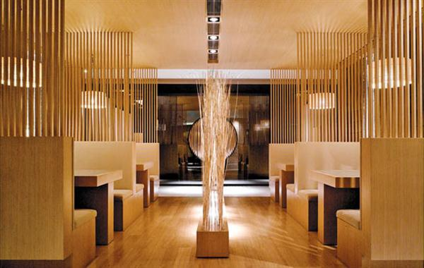 Traditional Asian Interior Design At Nishimura Restaurant In China