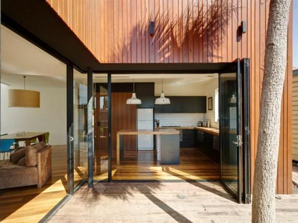 Open House Timber House Design