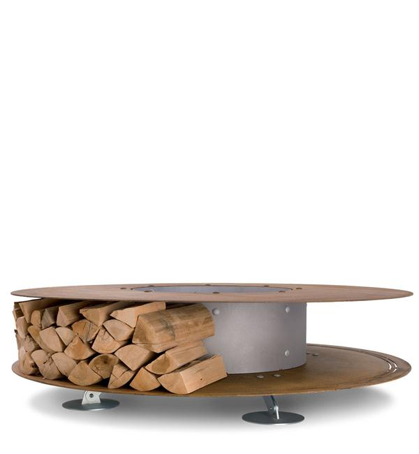 Outdoor Wood Fireplace With The Fabulous Zero By Ak47space Interior Design Ideas
