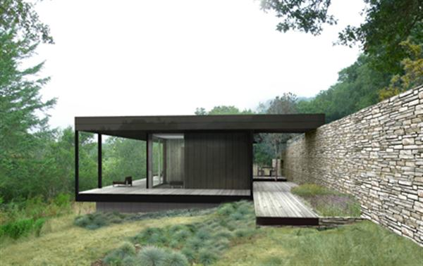 The Modern Minimalist Prefab House Design Of The Wallace