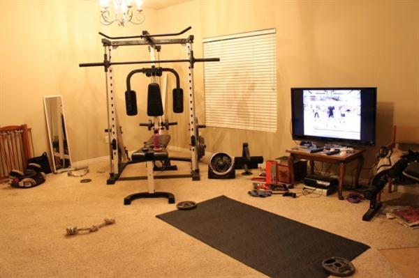 Private Home Gym Design