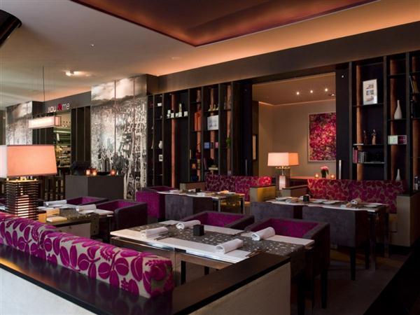Beautiful Restaurant Furniture Collection In Luxury Garden