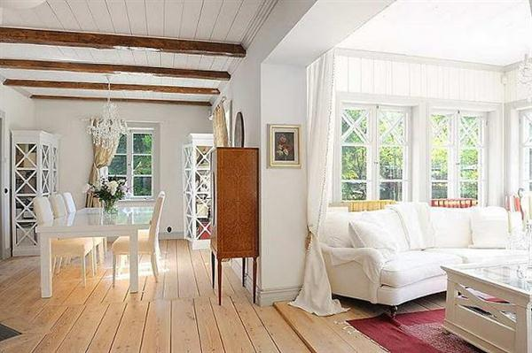 Scandinavian country style interior design home decor now for Interior country home designs
