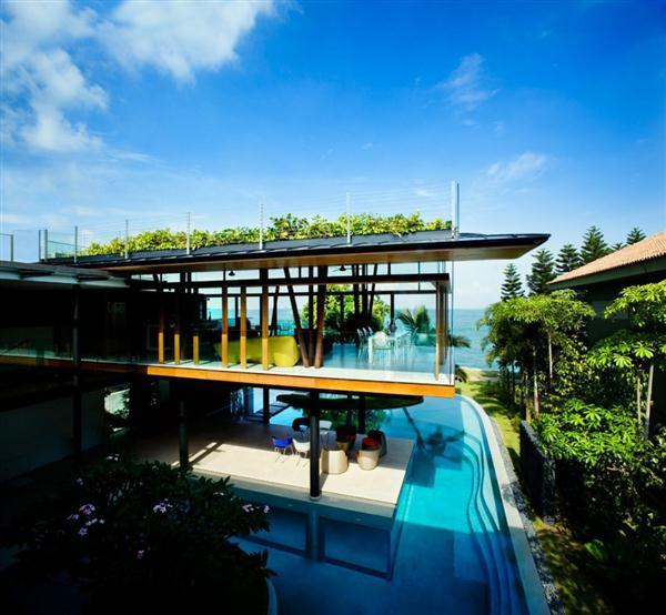 Sea Front Home Design