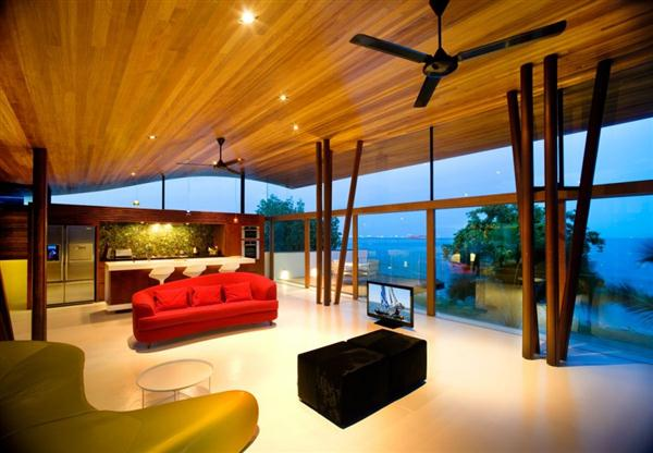 Seafront House Design Interior