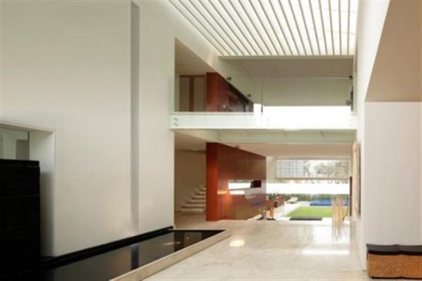 Skylights Contemporary Home