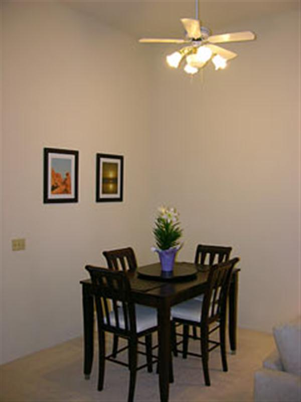 Small Luxury Condo Dining Room