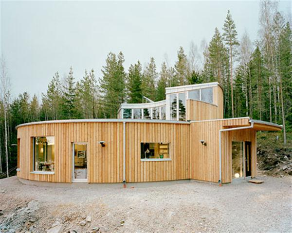 Sustainable prefab swedish house plan with the passive for Swedish home design