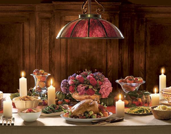 Thanksgiving dining room decorating ideas home decor now for Thanksgiving home decorations