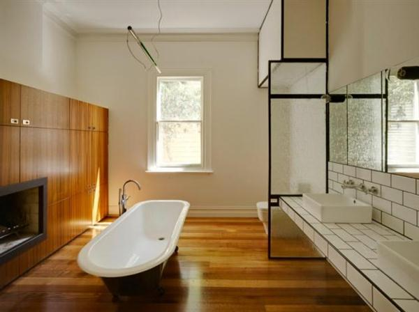 Timber House Design Bathroom