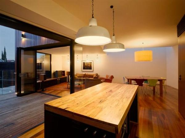 Timber House Design Kitchen