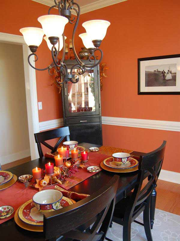 Facebook Twitter Google Pinterest StumbleUpon Reddit LinkedIn Share Tagged Thanksgiving Dining Room Decor Decorating Ideas