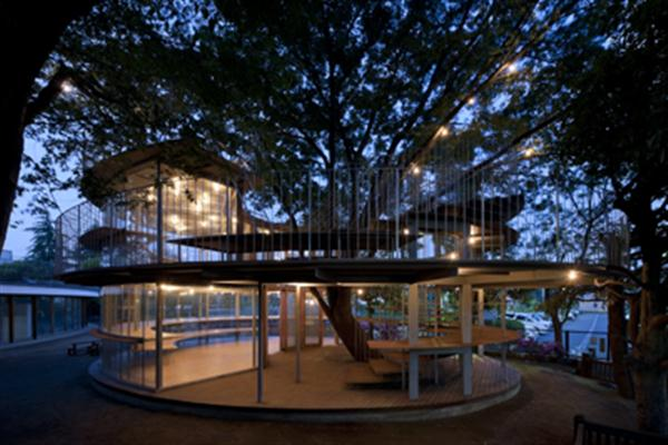 Unique Living Design Exterior Kindergarten