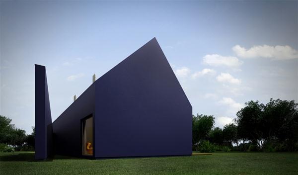 Unique Roof Design Home