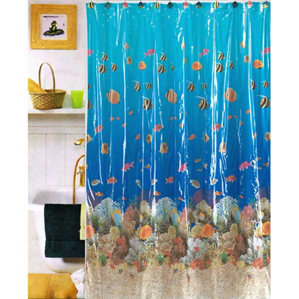 Vinyl Shower Curtains For Bathroom Interior Decorating