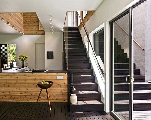 Loft Home Design Ideas For Riverfront Home Design By Bates