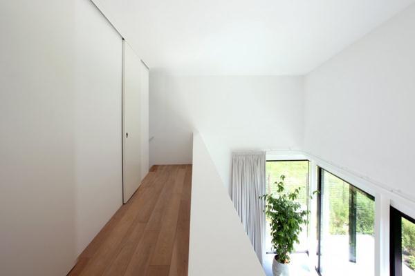 White Interior Modern Villa