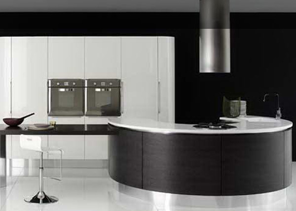 Round Shape Kitchen Design
