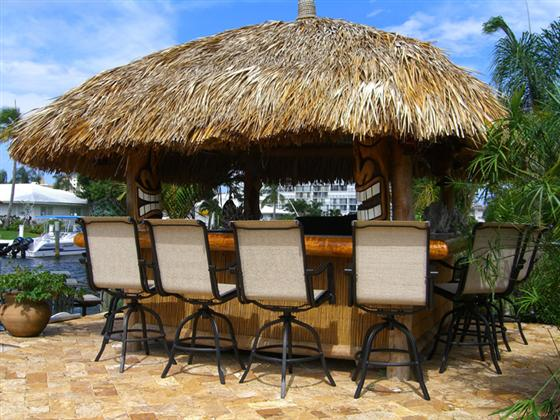Backyard Tiki Bar Ideas : Backyard Tiki Bar Building A Tiki Bar What Should You Know? Images