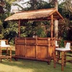 Building Outdoor Tiki Bar