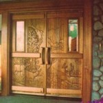 entryway door design wood