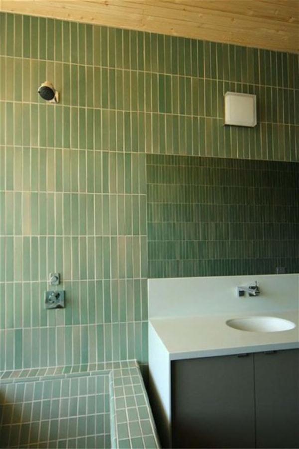 modern hill home bathroom
