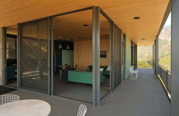 open concept modern hill home